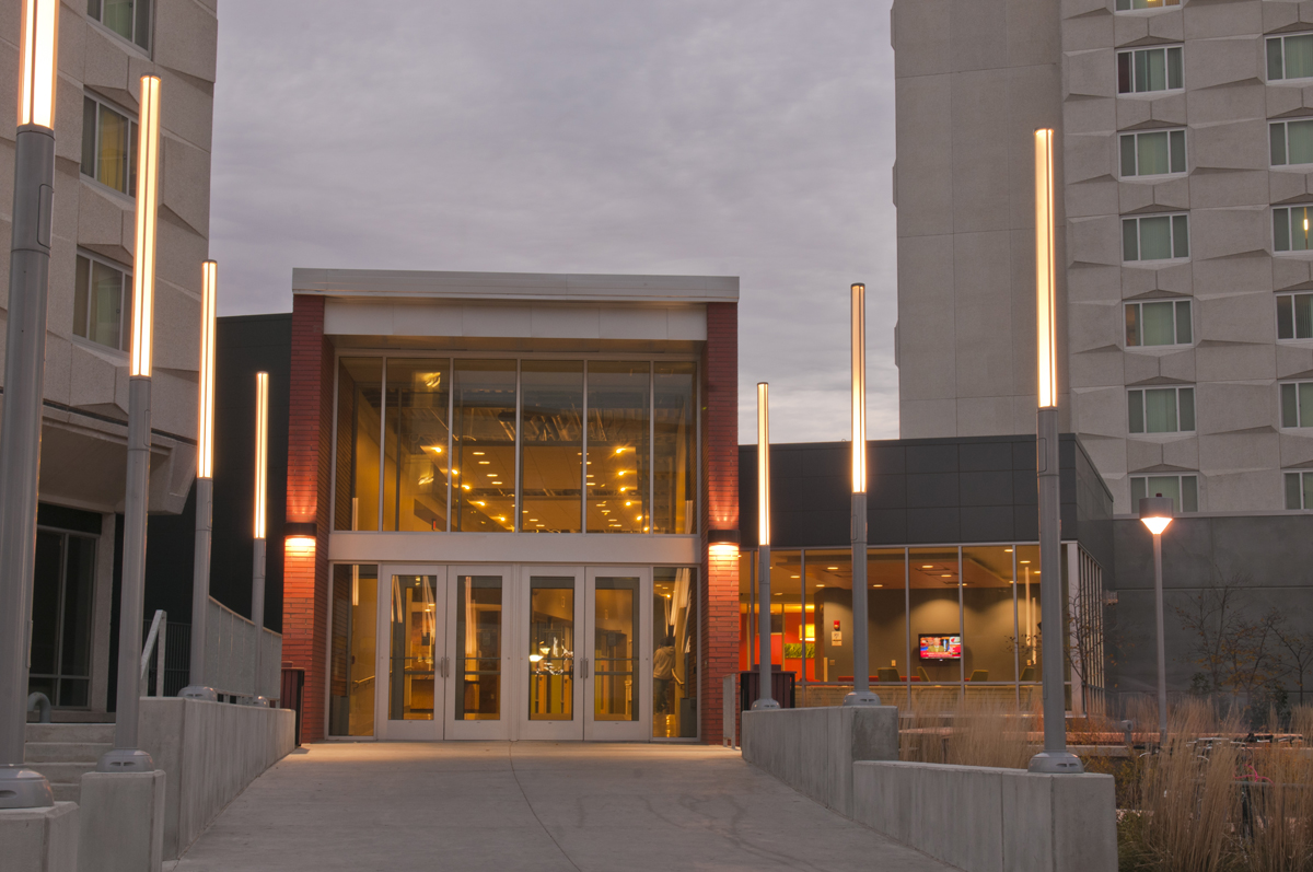 Abel Welcome Center entrance
