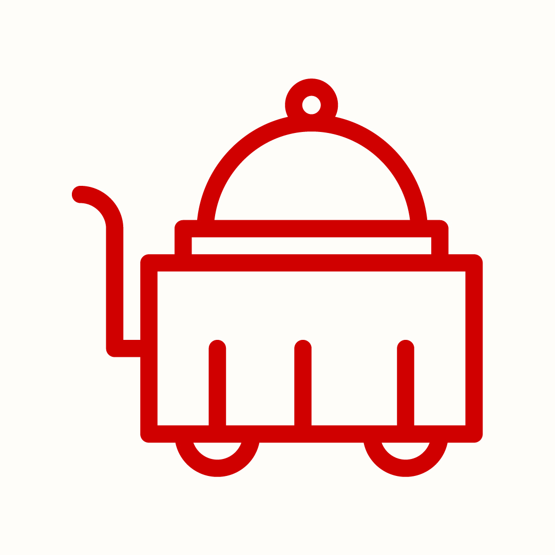 meal cart icon